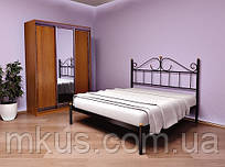 Кровать металлическая Розана без изножья