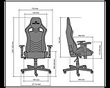 Геймерское кресло Hexter (Хекстер) PRO R4D TILT MB70 01 black/yellow, фото 5