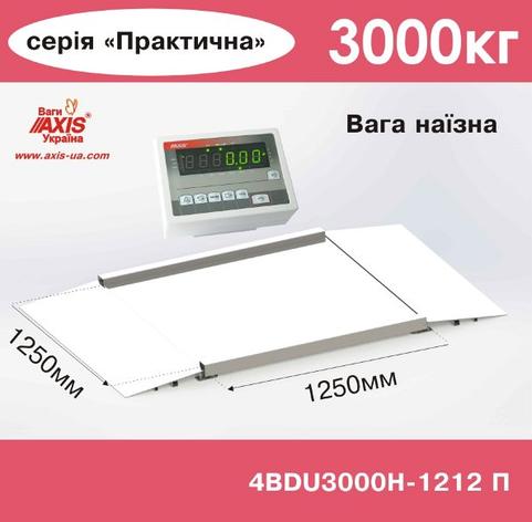 Весы наезные 4BDU3000Н-1212-П Практический, фото 2