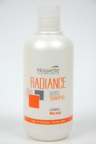 Шампунь питающий для блеска волос 250мл Nouvelle Gloss Shampoo, фото 2