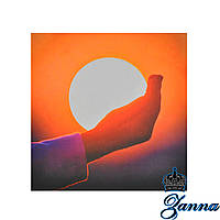 Термоаппликация светоотражающая Солнце в руке, фото 1