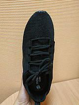 УЦЕНКА ! Кроссовки мужские черные летние сетка 40 р. - 26 см, фото 3