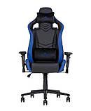 Геймерское кресло Hexter (Хекстер) PRO R4D TILT MB70 01 black/blue, фото 2