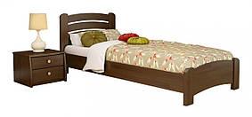 Кровать Венеция Люкс 80х190 Бук Массив 101 (Эстелла-ТМ)
