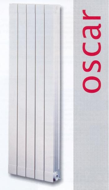 Радіатор алюмінієвий GLOBAL OSKAR 1600
