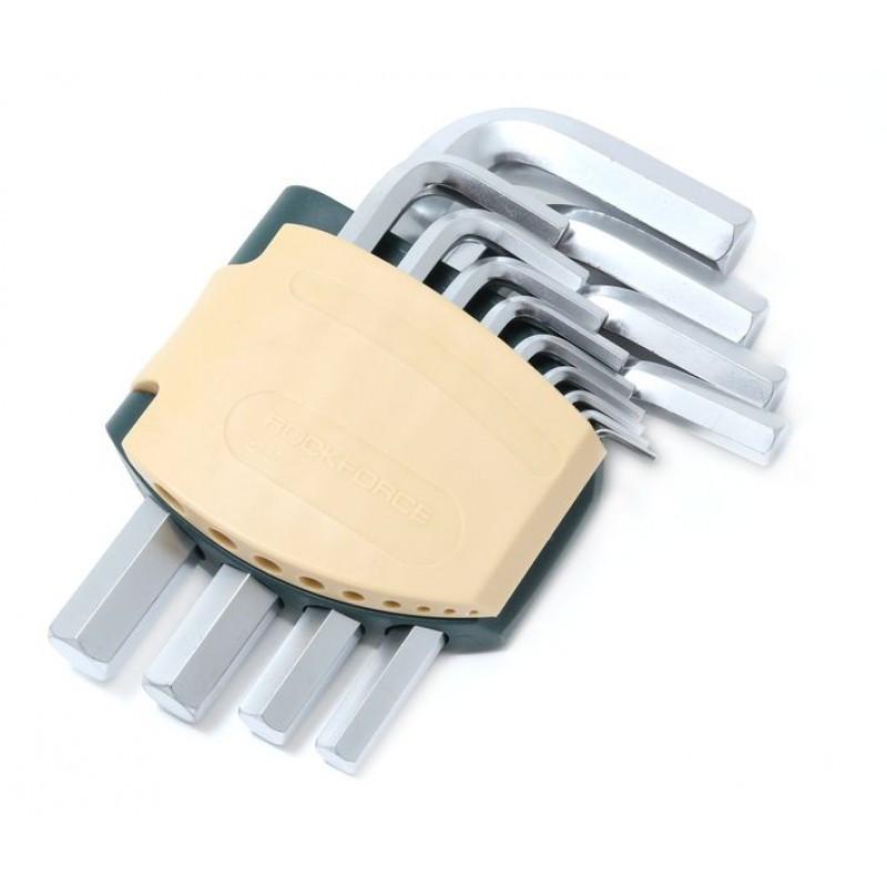 Набор ключей Г-образных 6-гранных 13пр. (2, 2.5, 3-8, 10, 12, 14, 17, 19мм)в пластиковом держателе