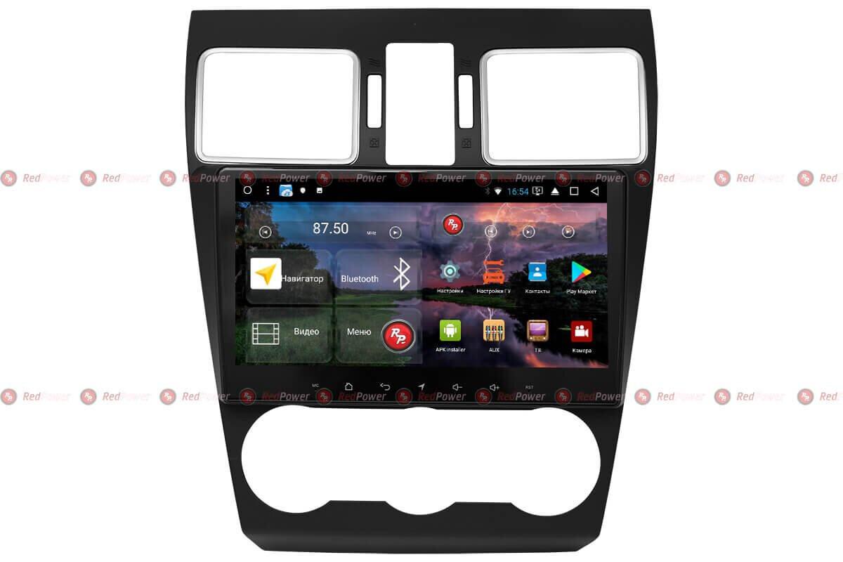 Штатная автомагнитола RedPower 51262 R K IPS DSP для Subaru XV, Forester на Android 8