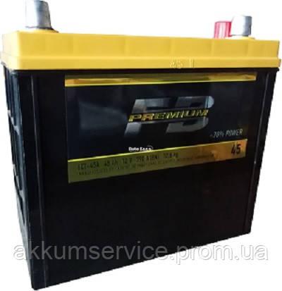 Аккумулятор автомобильный FireBall Premium Asia 45AH R+ 640A