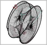 Раколовка круглая цилиндр для лова раков 20 х 40 см