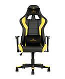 Геймерское кресло Hexter (Хекстер) ML R1D TILT PL70 01 black/yellow, фото 2