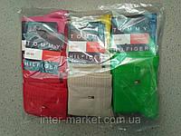 Брендові жіночі бавовняні шкарпетки упаковка 12 пар різні кольори, фото 1