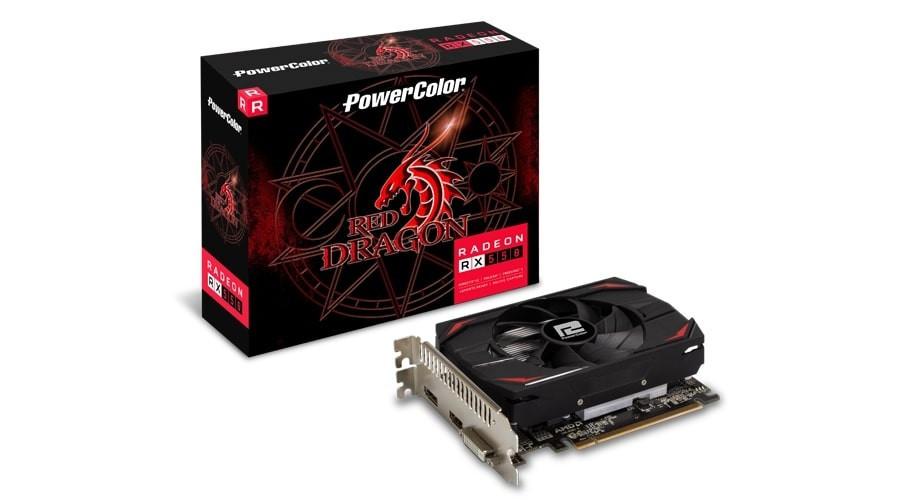 Відеокарта AMD Radeon RX 550 2GB GDDR5 Red Dragon PowerColor (AXRX 550 2GBD5-DH)