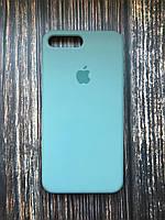 """Чехол Silicon iPhone 7 Plus - """"Pine green №58"""""""