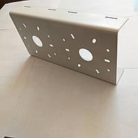 Кронштейн металлический «BizBez» (КМС2-двойной) для крепления камеры видеонаблюдения и прожекторов освещения
