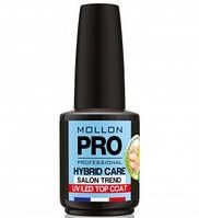 Топ Mollon Pro 12  мл ( Hybrid Care UV Top Coat 12 мл )