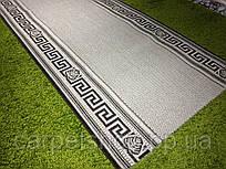 Безворсовая ковровая дорожка рогожка Naturalle: 60; 80;150 см