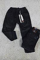 Утепленные вельветовые брюки на флисе 4- 6 лет