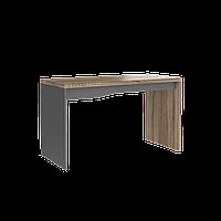 Офисный стол Intarsio Connect C Дуб Сонома Трюфель + Антрацит