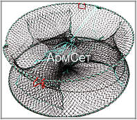 Раколовка круглая цилиндр для лова раков 20 х 50 см
