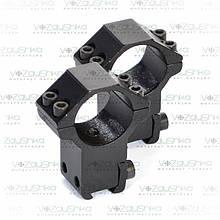 """Кольца крепления оптического прицела Beeman FTMA012 1"""" 11 мм"""