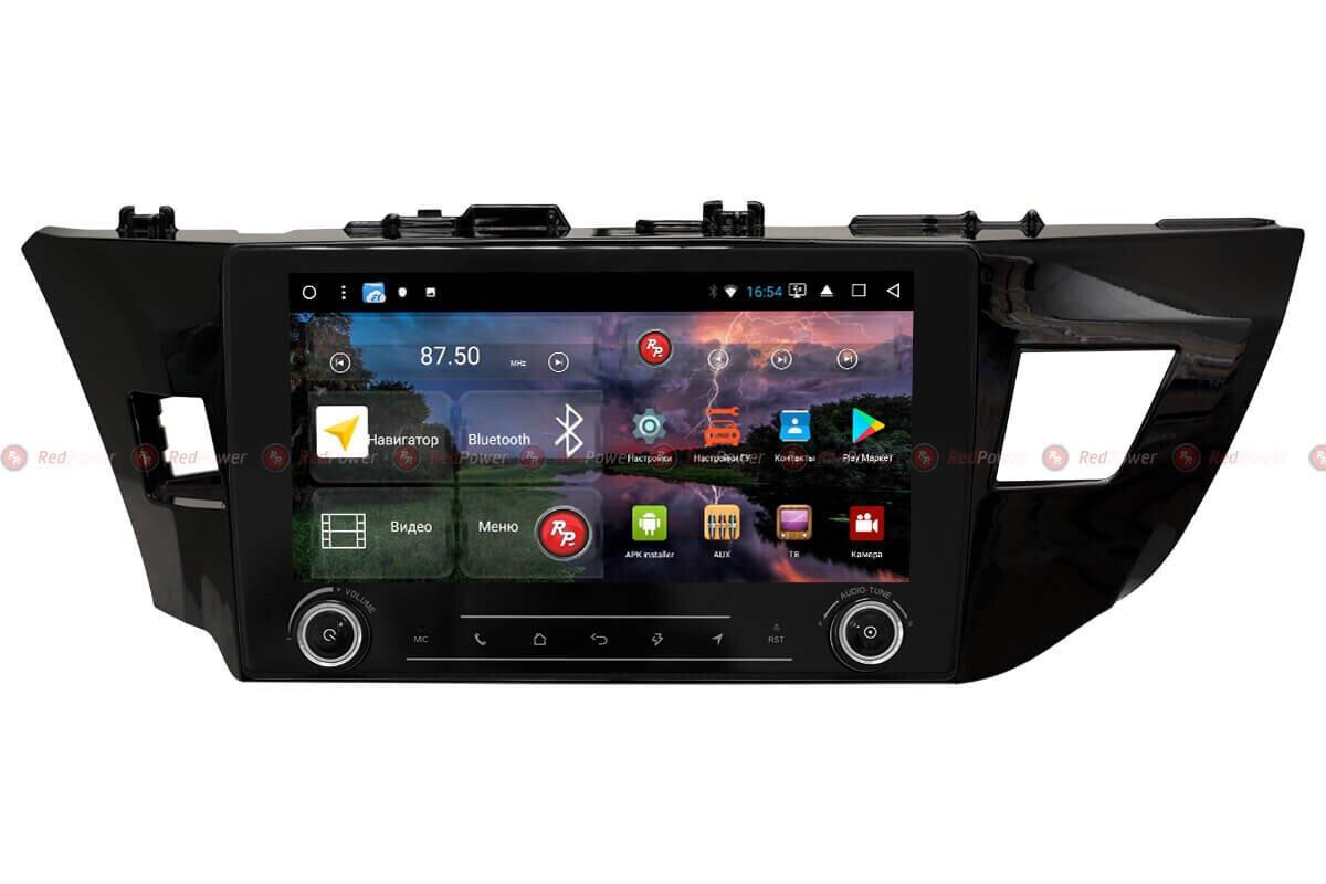Штатная автомагнитола RedPower 51066 RK IPS DSP для Toyota Corolla (2013-2016) на Android 8