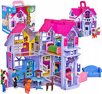 Домик для кукол с фигурками и мебелью, фото 1