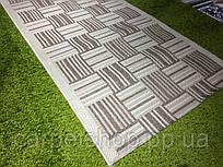 Безворсовая ковровая дорожка рогожка 60;  80 см