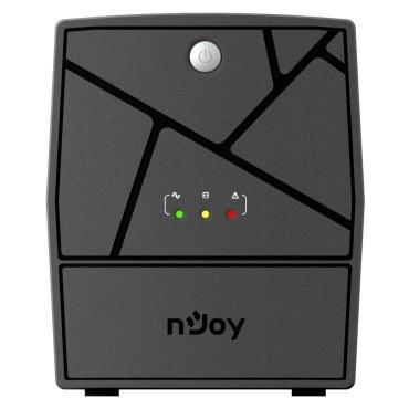 ИБП NJOY Keen 1000, Lin.int., AVR, 4 x евро, пластик