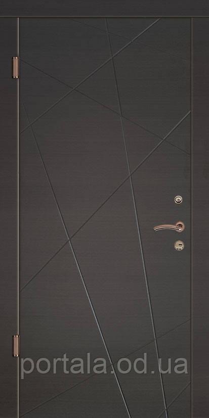 """Вхідні двері """"Портала"""" (серія Концепт) ― модель Грація"""
