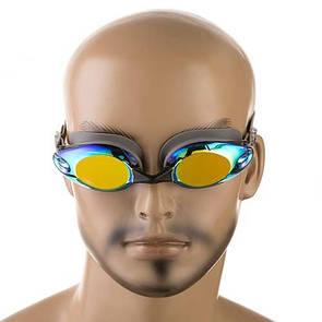 Окуляри для плавання Dolvor 8013 сірий