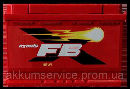 Аккумулятор автомобильный FireBall Standart Hybrid 60AH L+ 540A