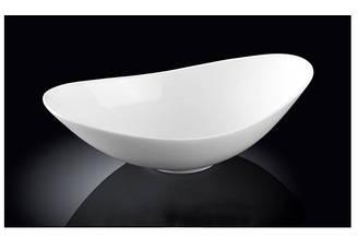 Салатник фарфоровый Wilmax 25х14,5х7,5 см WL-992761