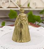 Старий бронзовий дзвіночок, чернець, бронза, Англія, винаж, фото 3
