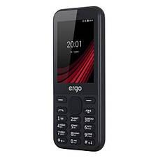 """Мобильный телефон Ergo F284 Balance Dual Sim Black; 2.8"""" (240х320) TFT / клавиатурный моноблок / Spreadtrum SC6531E / ОЗУ 32 МБ / 32 МБ встроенной +, фото 2"""