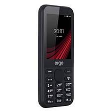 """Мобільний телефон Ergo F284 Balance Dual Sim Black; 2.8"""" (240х320) TFT / клавіатурний моноблок / Spreadtrum SC6531E / ОЗП 32 МБ / 32 МБ вбудованої +, фото 3"""
