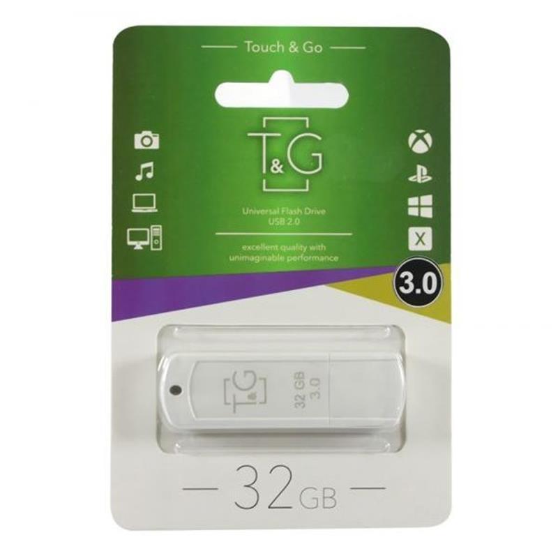 Флеш-накопичувач USB3.0 32GB T&G 011 Classic Series White (TG011-32GB3WH)
