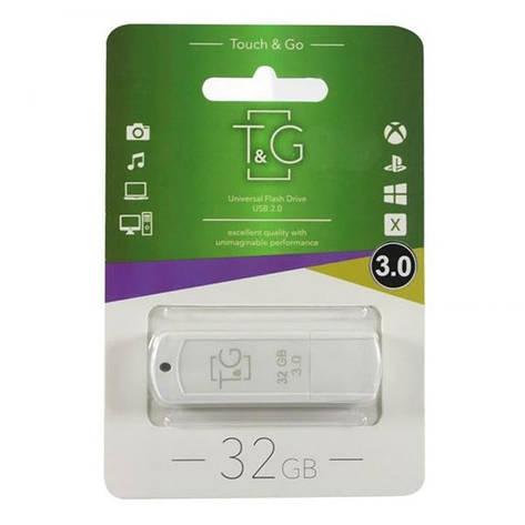 Флеш-накопичувач USB3.0 32GB T&G 011 Classic Series White (TG011-32GB3WH), фото 2