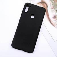 Чехол Soft Touch для Samsung Galaxy M11 (M115) силикон бампер черный