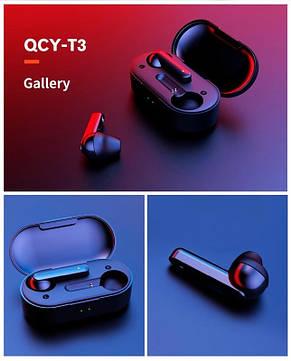 Bluetooth-гарнитура Xiaomi QCY T3 Black_, фото 2