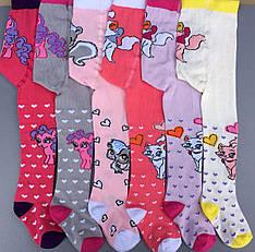Детские для девочек колготки размеры 80-86, 90-92