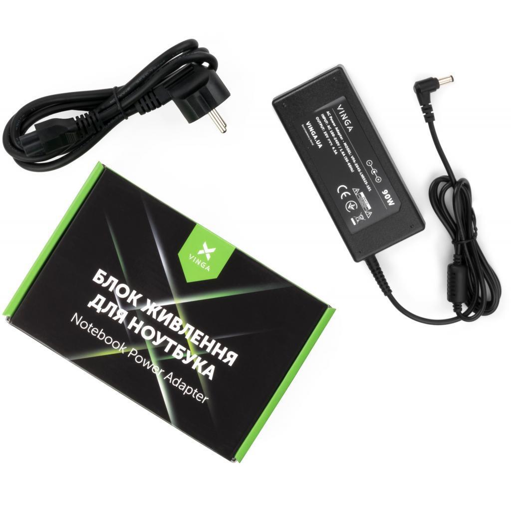 Блок живлення до ноутбука Vinga Lenovo 20V 90W 4.5 A роз'єм 5.5*2.5 (VPA-2045-LN5525-101)