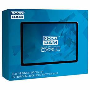 """Накопичувач SSD 2.5"""" 120GB GOODRAM (SSDPR-CX300-120), фото 2"""
