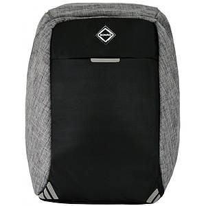 Рюкзак антизлодій Bonro з USB 20 л сірий