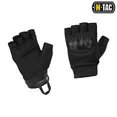 M-tac перчатки беспалые assault tactical mk.3 black