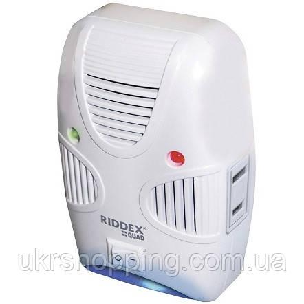 Ультразвуковий відлякувач мишей і тарганів Riddex Quad 2 в 1 | ультразвук від гризунів і комахи