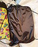 "Молодежные сумки-рюкзаки ""затяжки"" с супергероями Brawl Stars (2цвета)31х40см, фото 3"