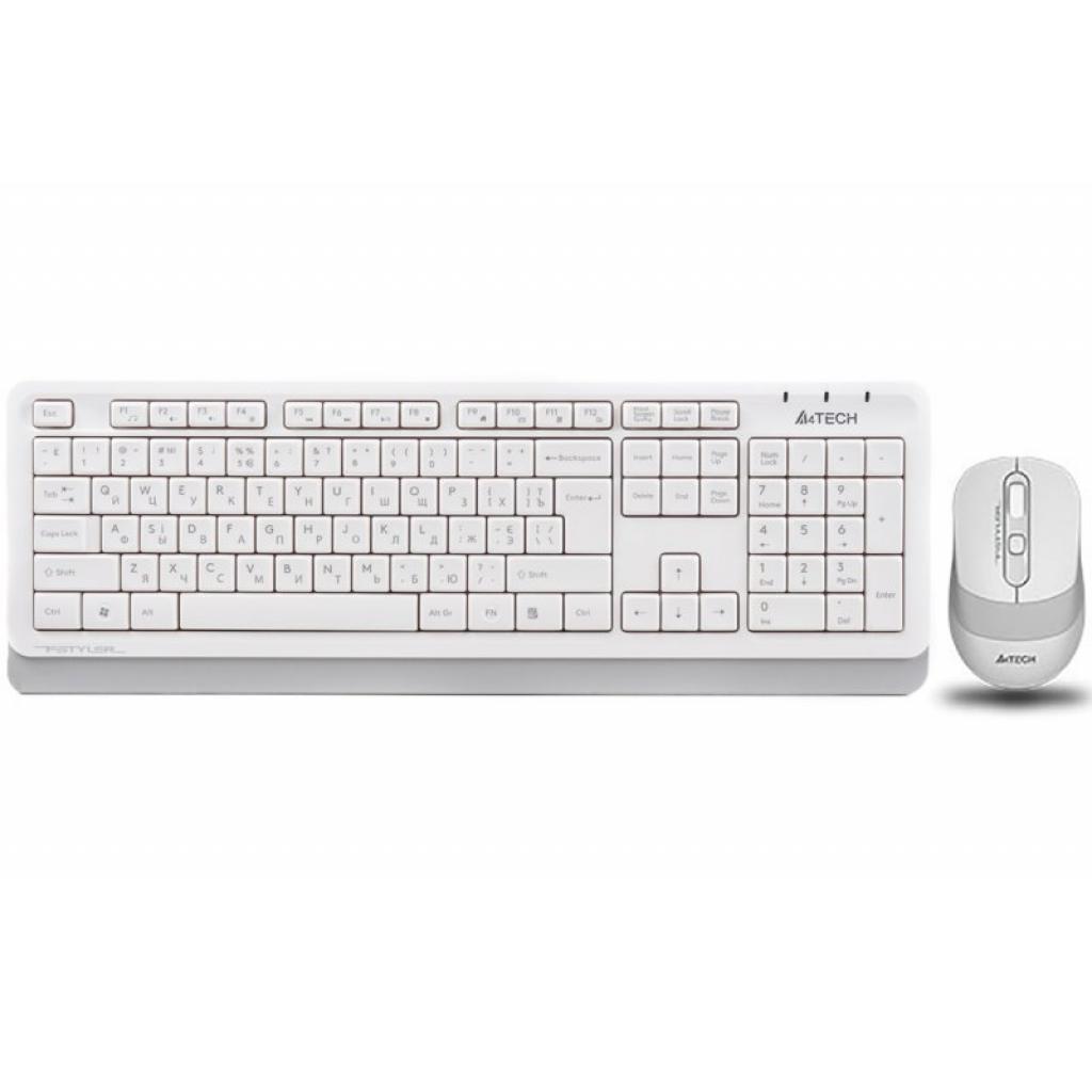 Комплект A4tech FG1010 White