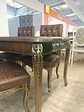 Комплект ДТ-001. Стол и 4 стулев, фото 9