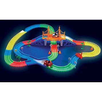 Детская гибкая дорога Magic Tracks (220 деталей)