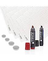 Бумага для флипчартов Magnetoplan 650x930 мм 5 блоков по 20 листов + 6 предметов в наборе